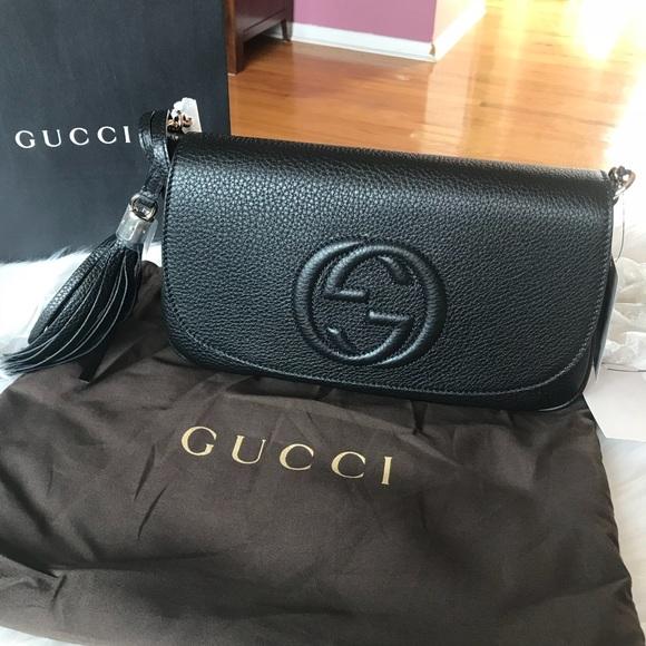 35462152a573a7 Gucci Bags | Soho Flap Crossbody Bag | Poshmark